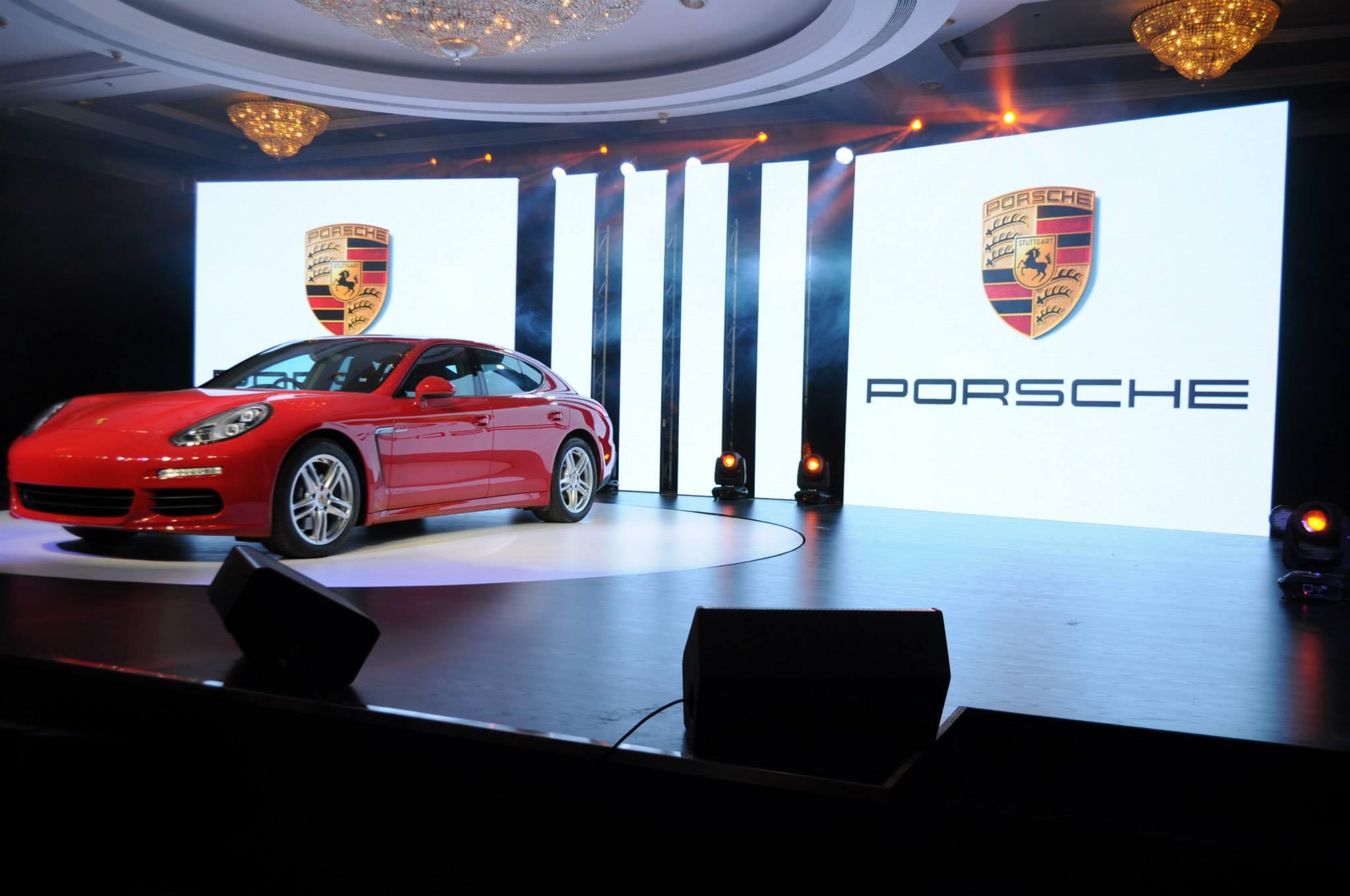 Porsche-launch